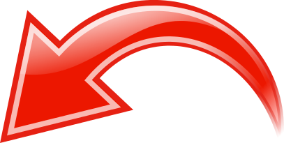 Red curved arrow left clipart graphic transparent arrow curved red left - /signs_symbol/arrows/curved_arrow ... graphic transparent
