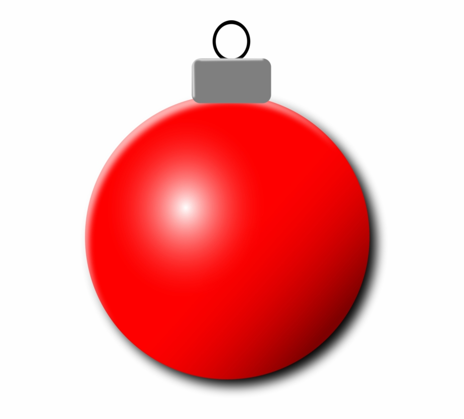 Red decoration clipart vector free download Red Christmas Ornament Png - Red Christmas Ornament ... vector free download