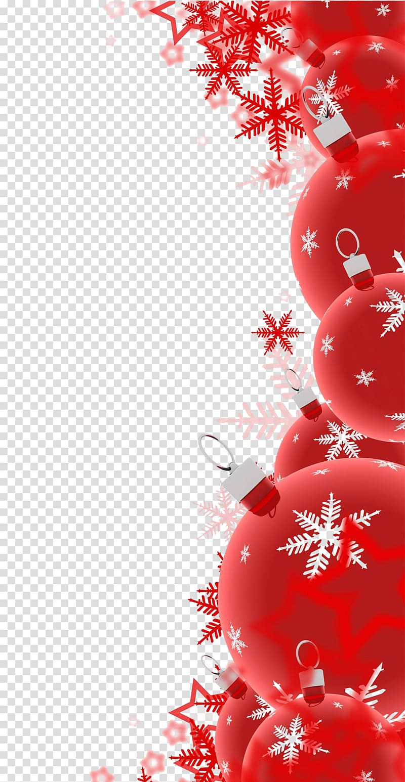 Red decoration clipart clipart free library Christmas decoration Santa Claus , Red Christmas decoration ... clipart free library
