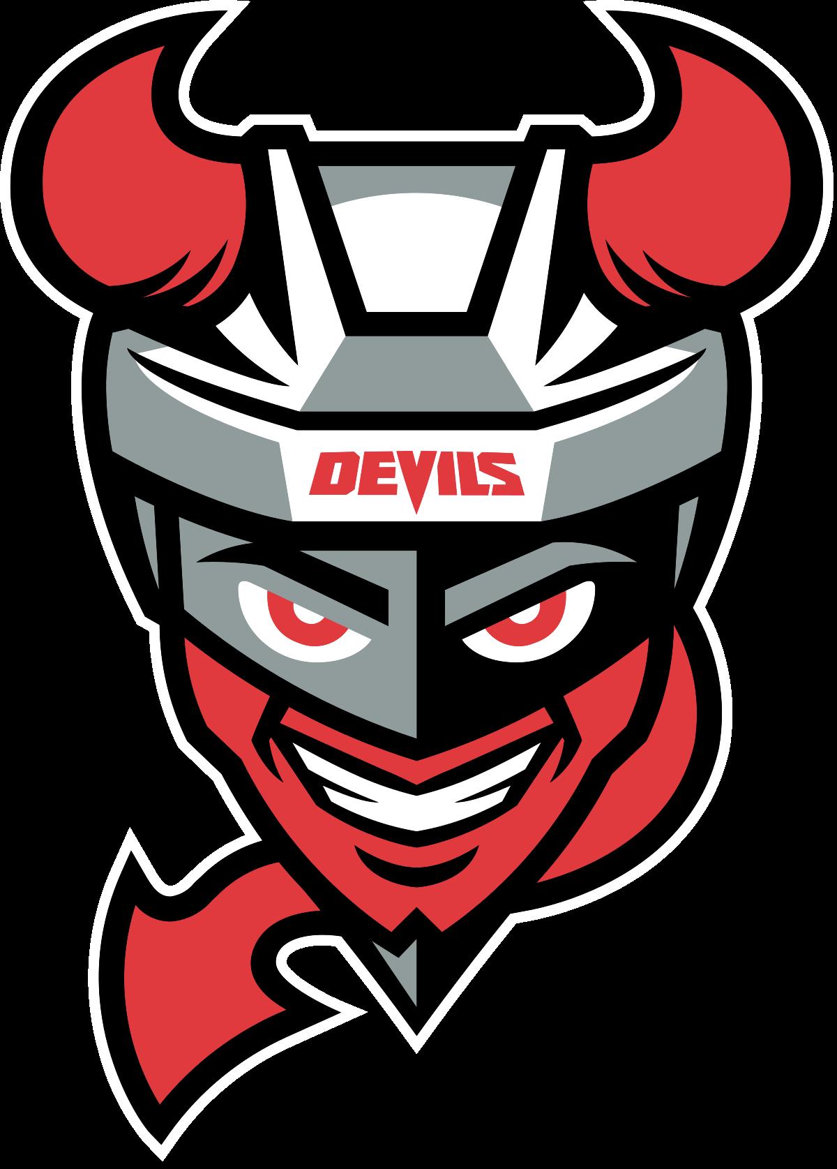 Red devil basketball clipart png transparent stock Binghamton Devils - Wikipedia png transparent stock
