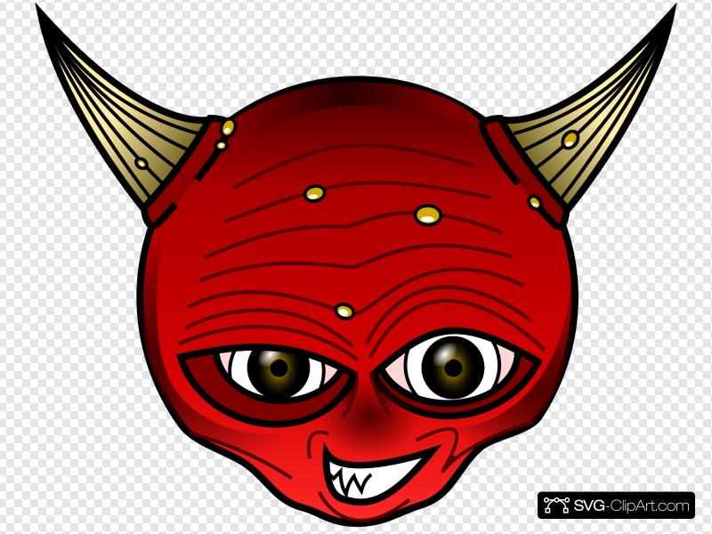 Red Devil Clip art, Icon and SVG - SVG Clipart clipart freeuse stock
