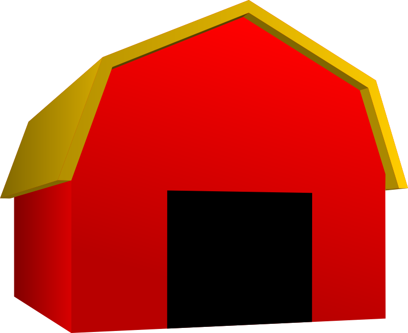 Red dog house clipart png royalty free library Clipart - Barn png royalty free library