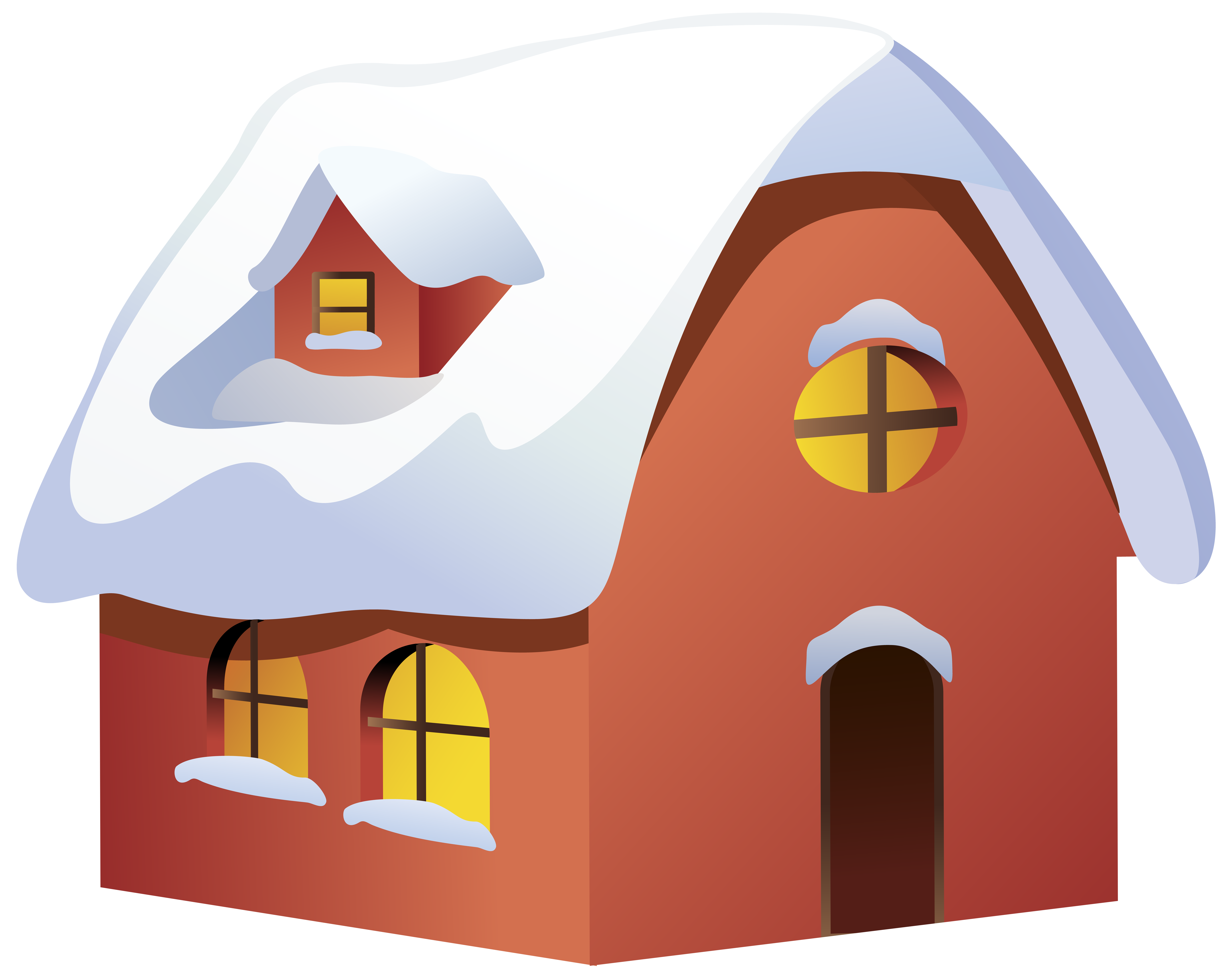 Red dog house clipart png royalty free stock Winter House Transparent PNG Clip Art Image | Gallery Yopriceville ... png royalty free stock