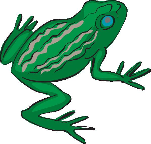Red eyed tree frog clipart jpg library stock Blue Eyed Frog Clip Art at Clker.com - vector clip art online ... jpg library stock