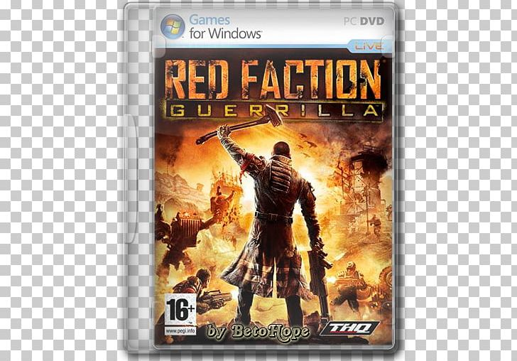 Red faction clipart free library Red Faction: Guerrilla Xbox 360 Video Game Volition PNG ... free library