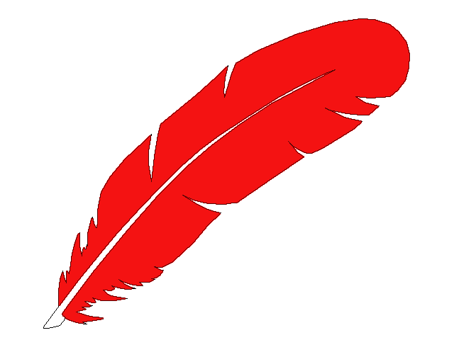 Red feather clipart clip art library Feather clip art at clker - Clipartable.com clip art library