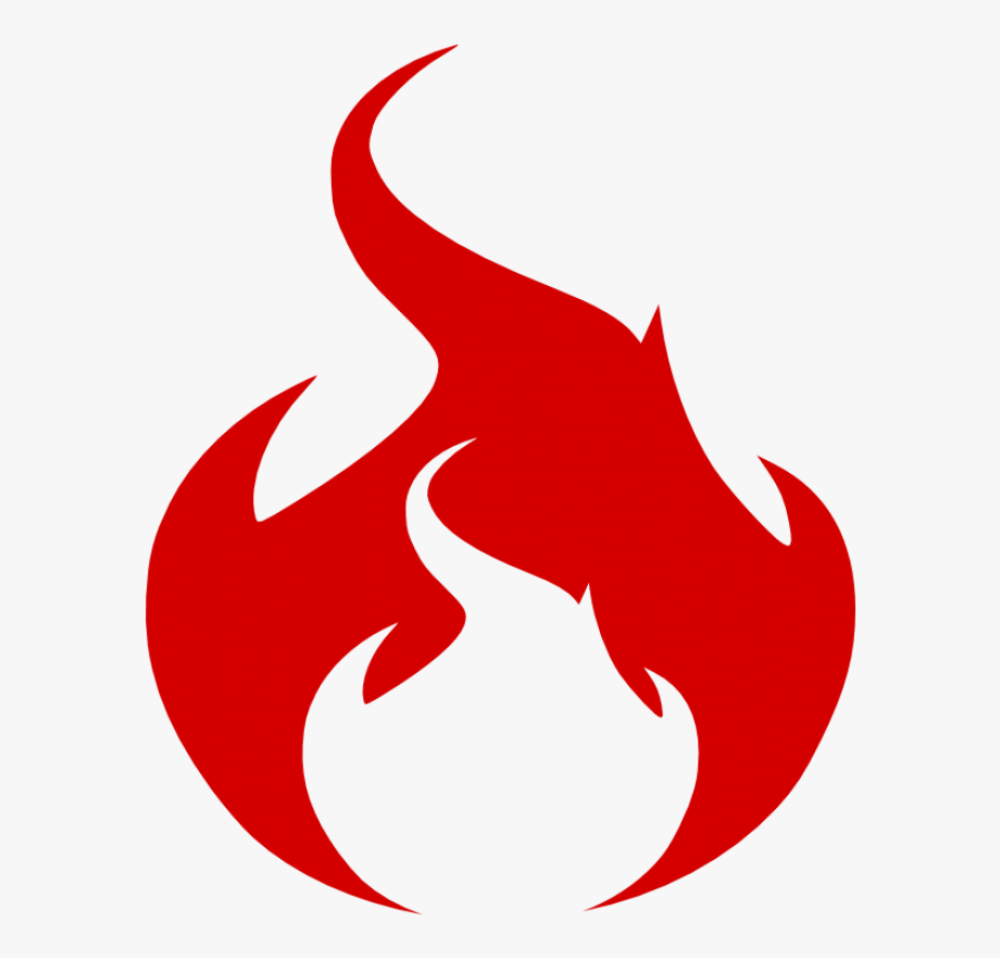 Red fire clipart picture black and white library Flame Logo Png - Red Fire Symbol Png #2219002 - Free ... picture black and white library