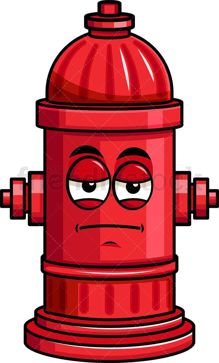 Heavy Eyes Fire Hydrant Emoji | Emoji Clipart | Emoji ... jpg free