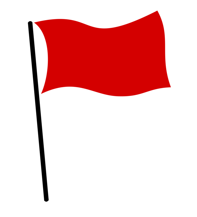 Red flag clipart picture freeuse Red Flag,Flag,Rectangle Clipart - Royalty Free SVG ... picture freeuse