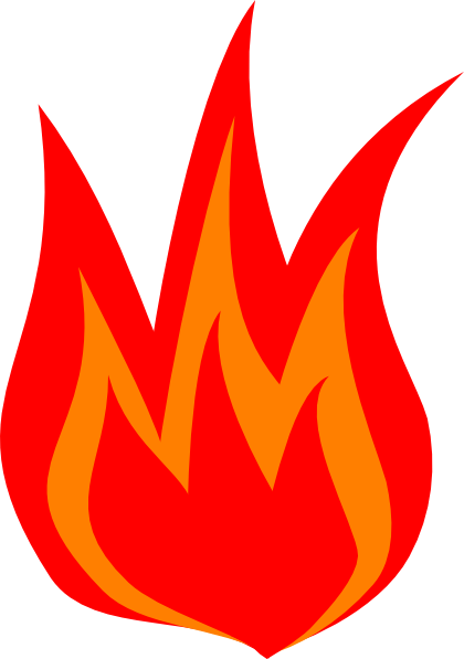 Red fire clipart freeuse library Red flame clipart » Clipart Portal freeuse library