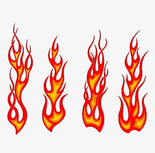Red flames clipart vector library stock Red Flame PNG, Clipart, Elemental, Fire, Fire Elemental ... vector library stock