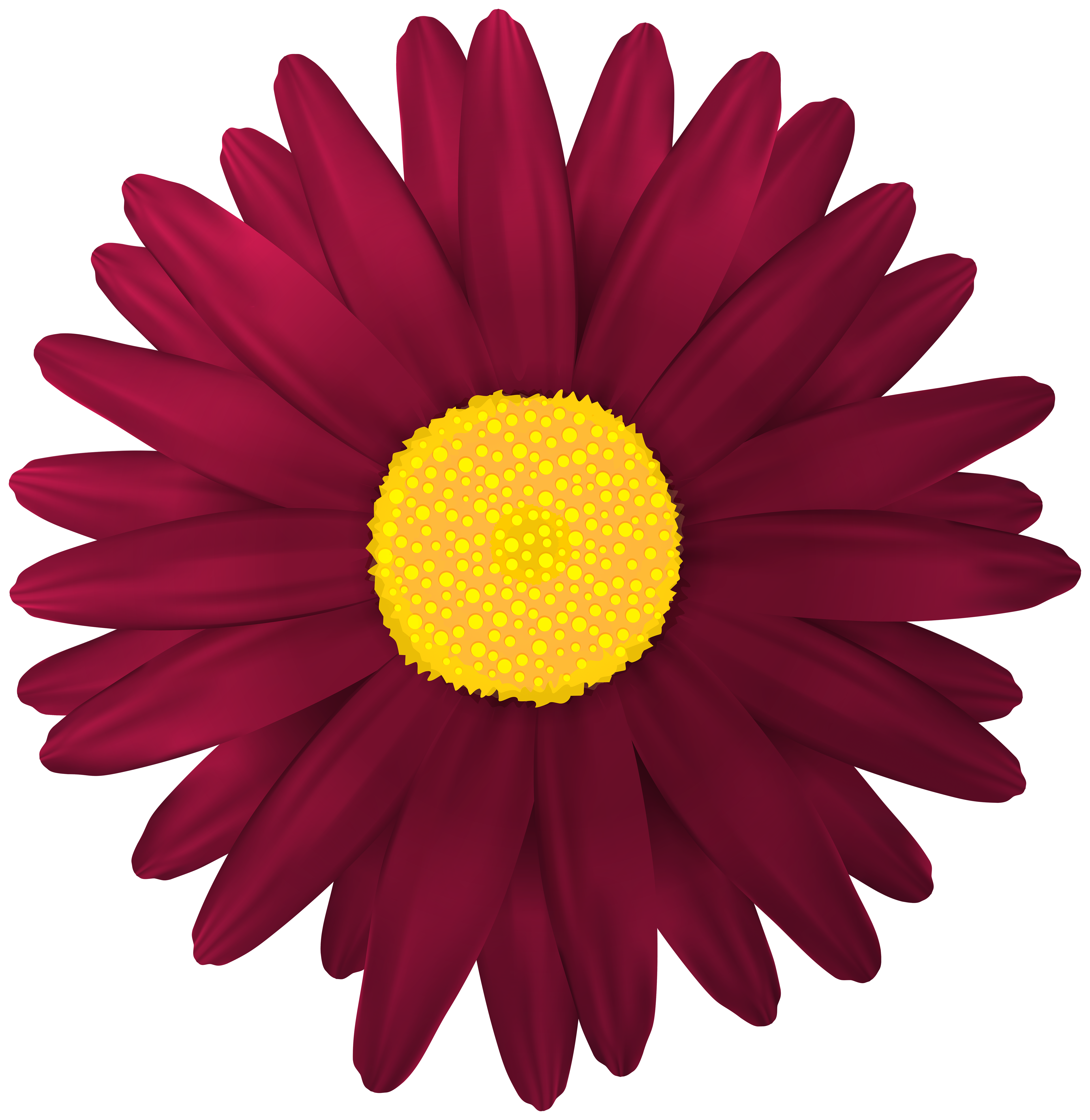 Red flower clipart no background clip art freeuse Red Flower Transparent PNG Clip Art Image | Gallery Yopriceville ... clip art freeuse