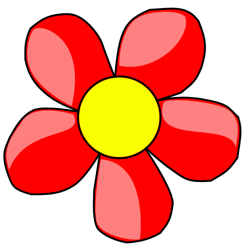 Free Red Flowers Cliparts, Download Free Clip Art, Free Clip ... transparent