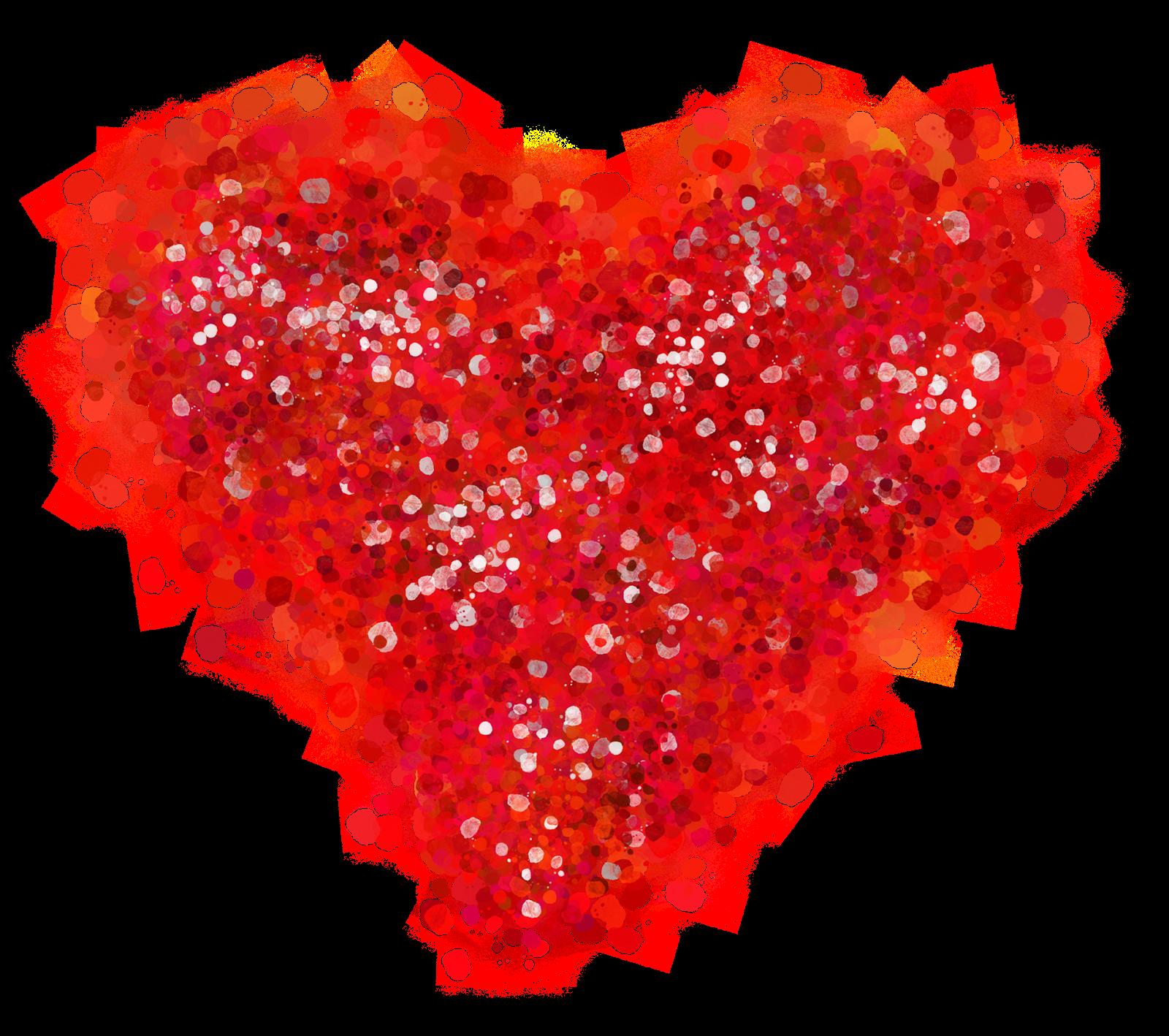 Red glitter heart clipart clipart library Glitter & The Girly Girl: Sunday Sprinkle: Listen clipart library