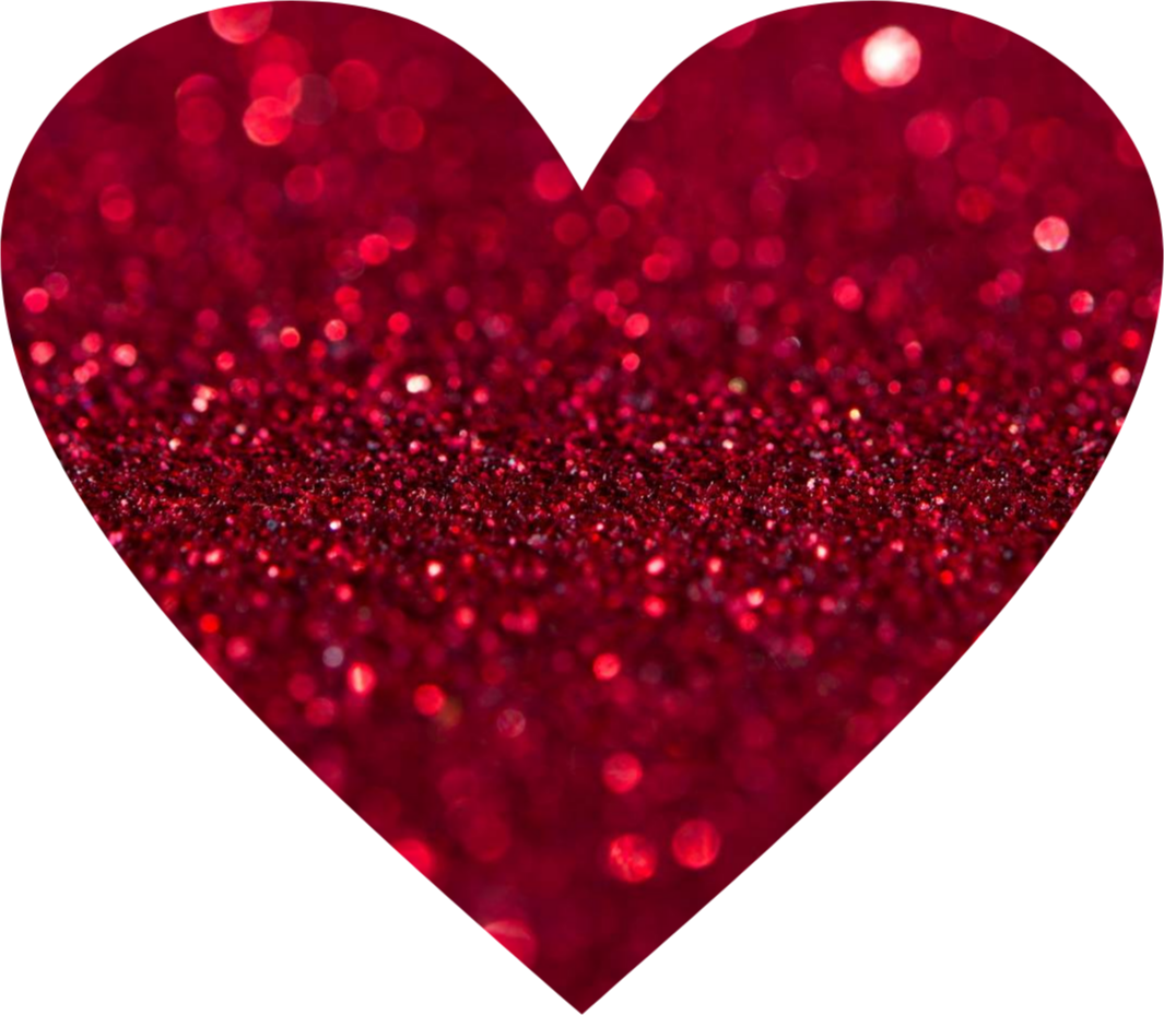 Red glitter heart clipart picture royalty free heart red glitter love - Sticker by Jessica Cervay picture royalty free
