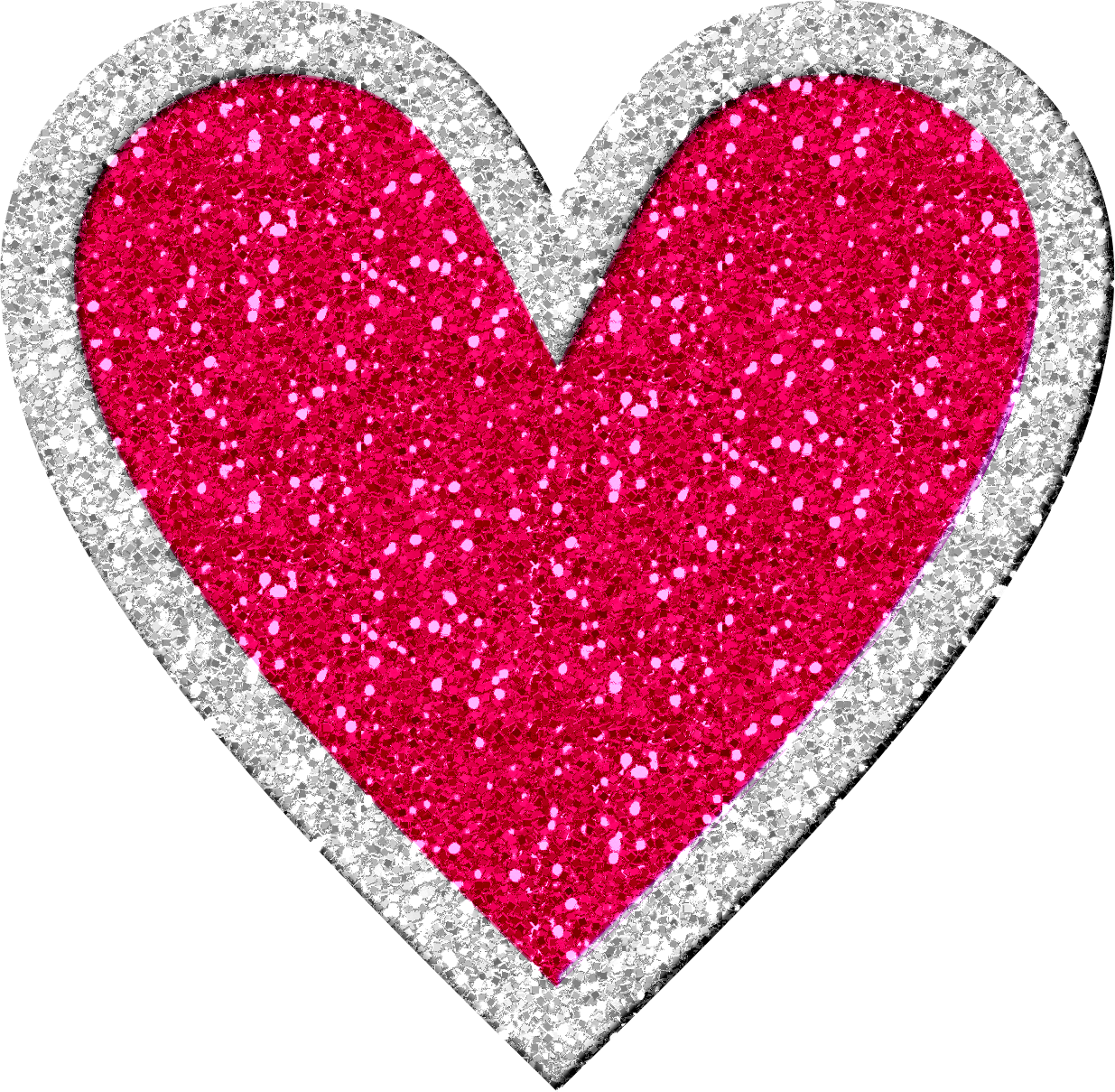 Library Of Red Glitter Heart Image Png Files Clipart Art 2019