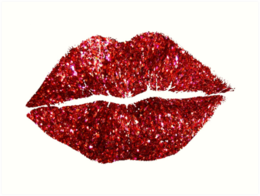 Glitter Lips Cliparts 20 - 260 X 196 - Making-The-Web.com png freeuse download