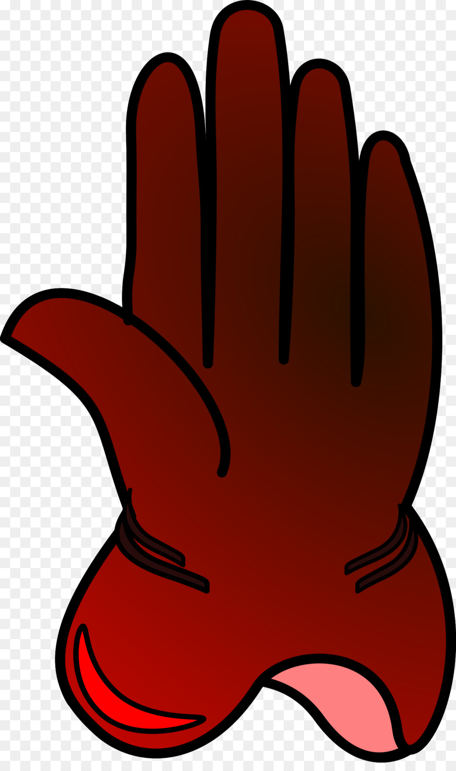 Red glove clipart image library Clothing, Red, Hand, transparent png image & clipart free ... image library