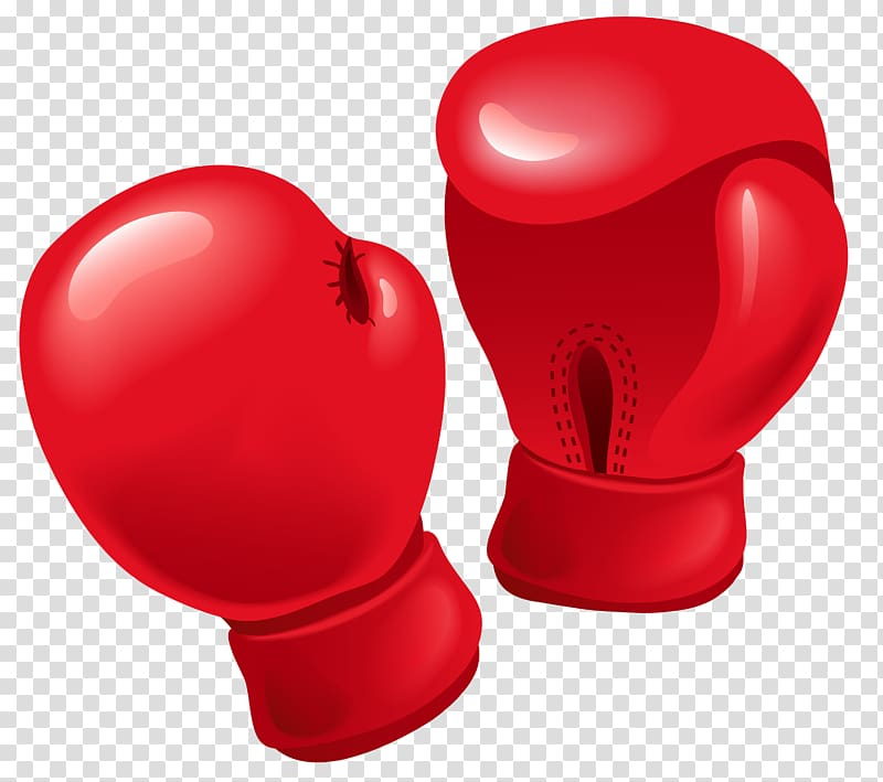 Red glove clipart png freeuse library Pair of red boxing gloves illustration, Boxing glove ... png freeuse library