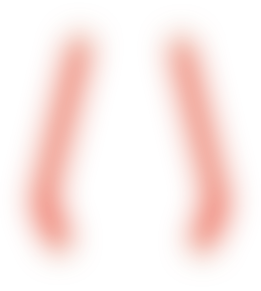 Red glow clipart