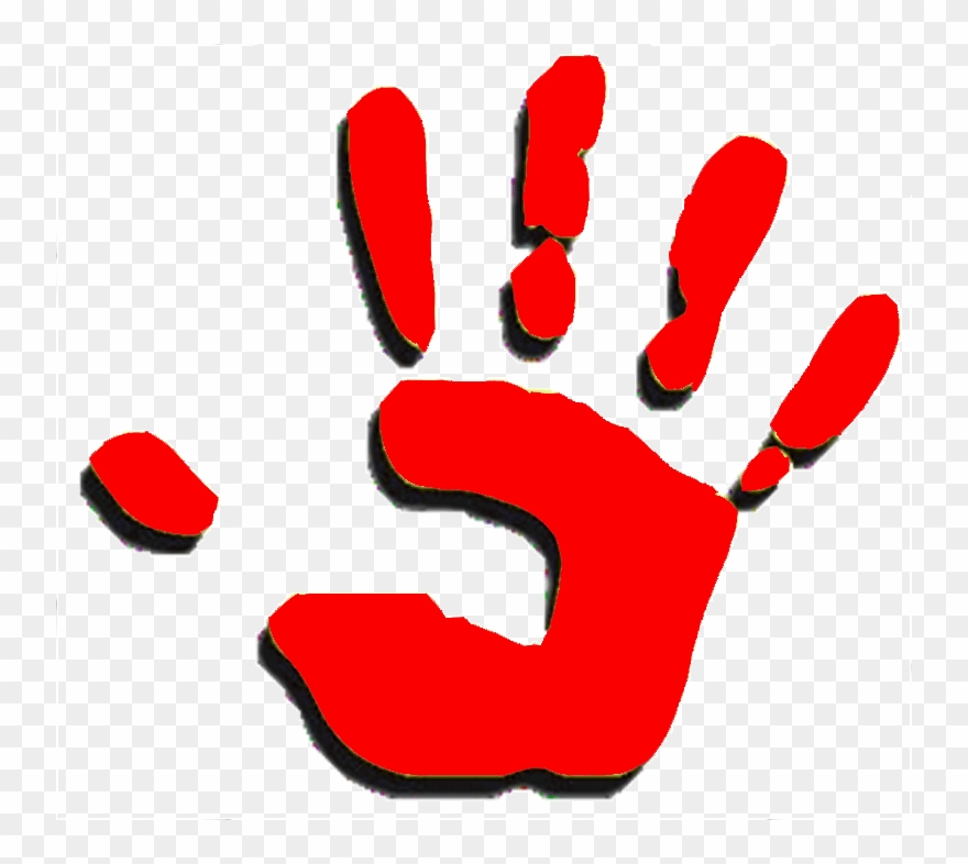 Red hand clipart graphic royalty free library Activities Presentations - Red Hand Transparent Clipart ... graphic royalty free library