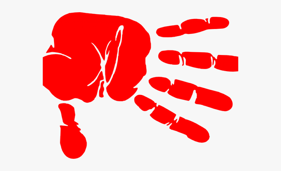 Red hand clipart svg black and white stock Handprint Clipart Red - Red Hand Print Clip Art #2557095 ... svg black and white stock