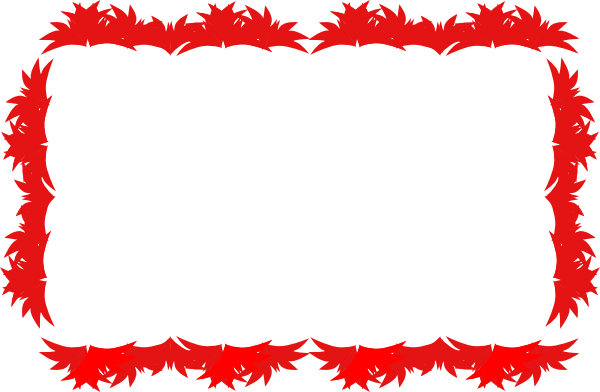 Red Border Clip Art at Clker.com - vector clip art online ... vector royalty free library