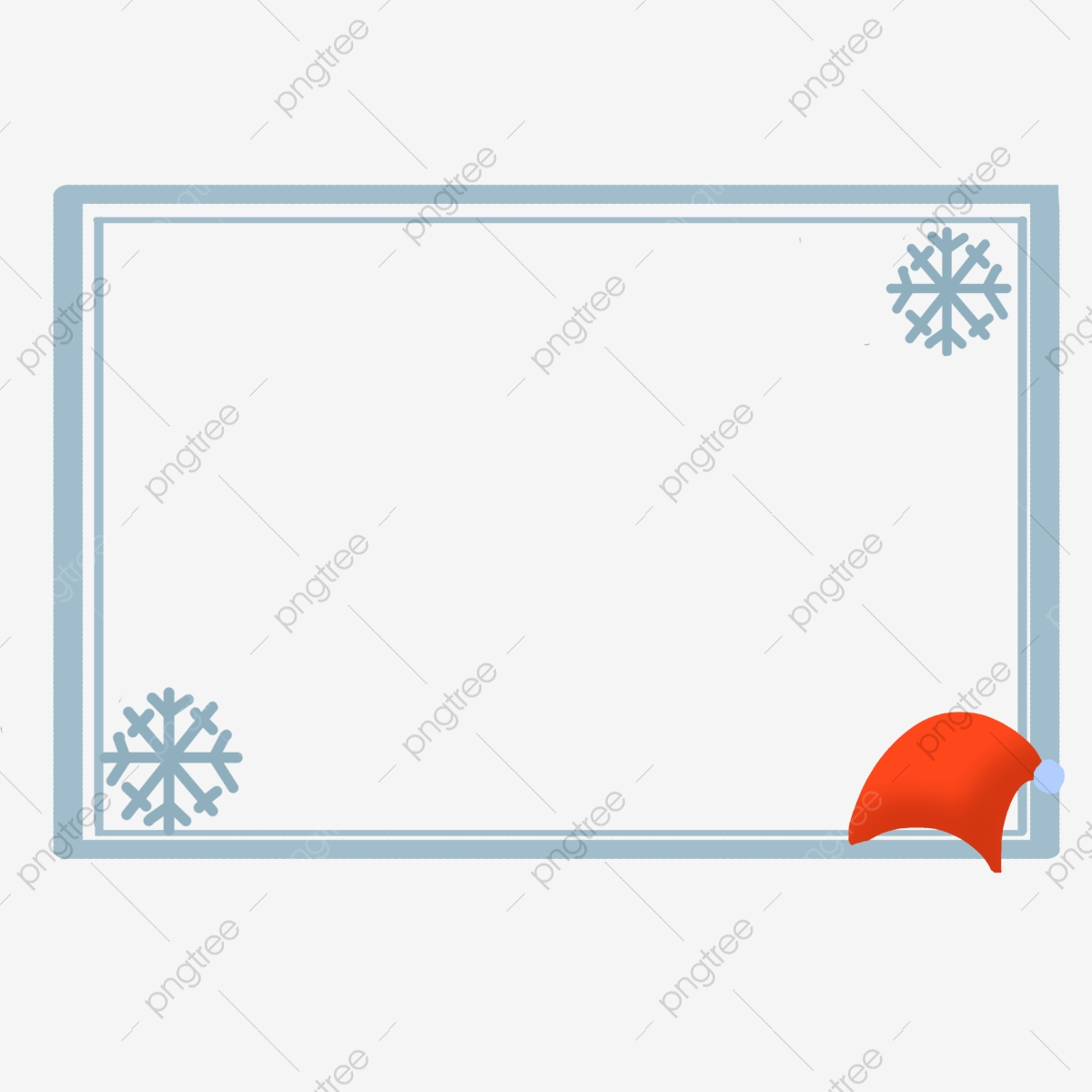 Great Cold Border Blue Border Illustration Blue Cartoon ... clip black and white library
