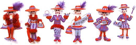 Red hat ladies clipart image red hat society clipart - Google Search | Red Hat | Red hats ... image