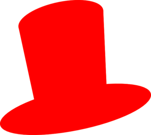 Red hatters clipart vector black and white Red Hat Clip Art at Clker.com - vector clip art online ... vector black and white
