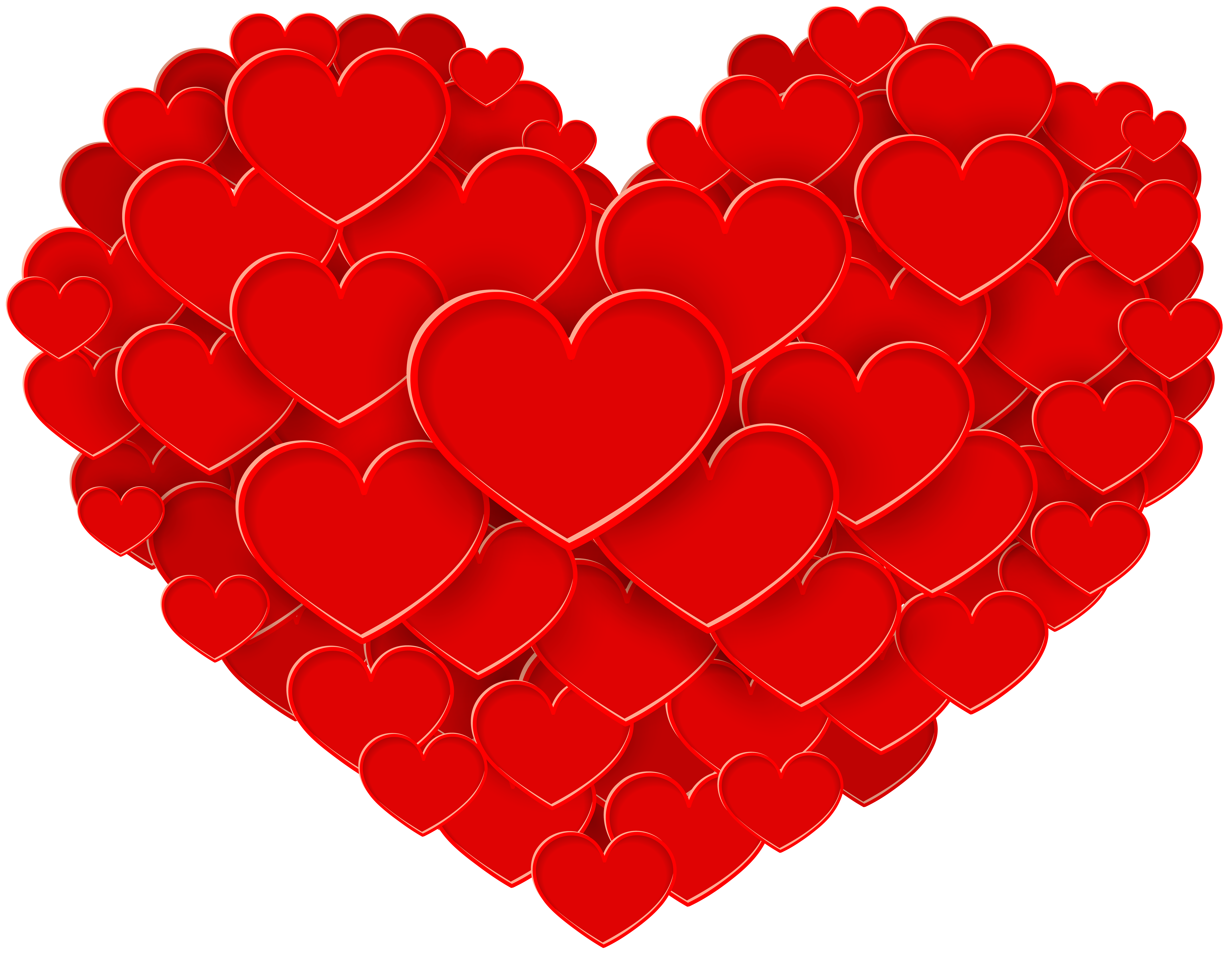 Red heart clipart high resolution png black and white download Red Heart PNG Clip Art | Gallery Yopriceville - High-Quality Images ... png black and white download