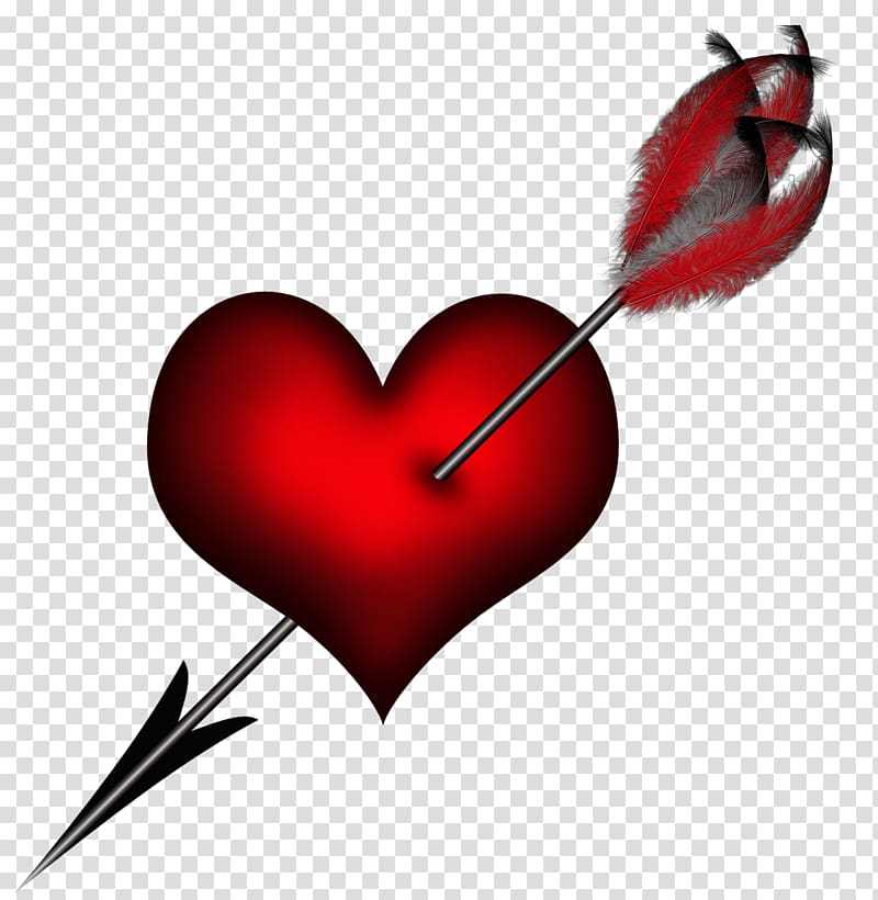 Red heart with arrow clipart transparent background vector royalty free Cupid heart with arrow , Heart, Heart with Arrow transparent ... vector royalty free