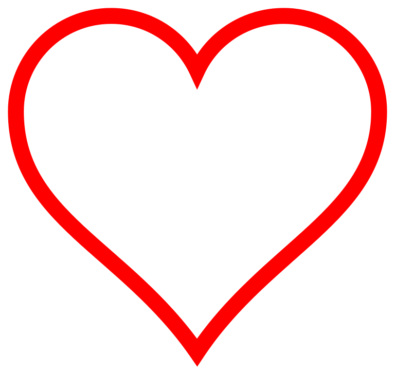 Red heart with cross clipart clip art black and white download Free Free Heart Graphic, Download Free Clip Art, Free Clip Art on ... clip art black and white download