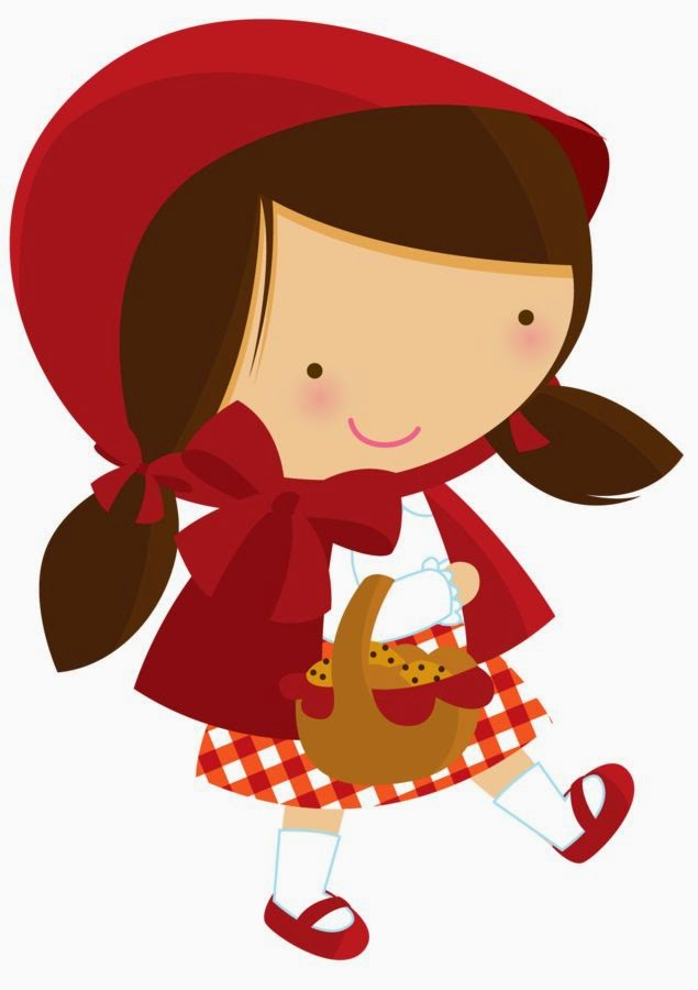 Fun Little Red Riding Hood Clipart. - Oh My Fiesta! in english clip art transparent download
