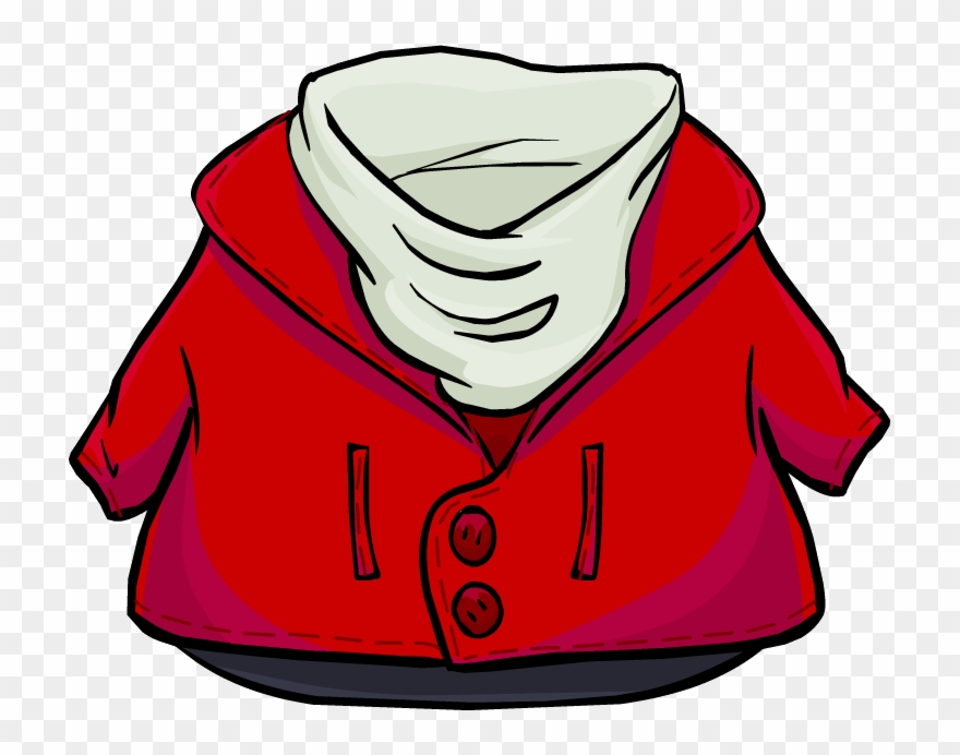 Red jacket clipart picture royalty free stock Red Coat Club Penguin Clipart (#187459) - PinClipart picture royalty free stock