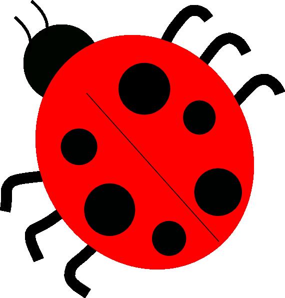 Red Ladybugs Clip Art at Clker.com - vector clip art online ... clip