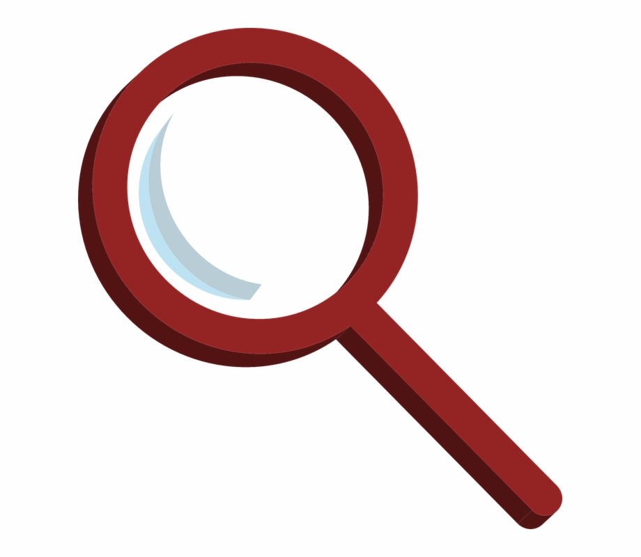 Magnifying Glass Icon Png - Magnifying Glass Vector Red ... clipart free download