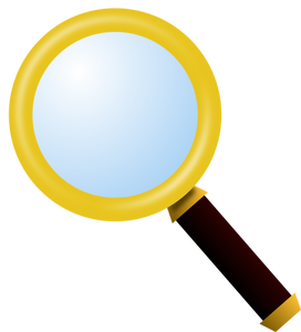 1162 magnifying glass clip art free   Public domain vectors vector library