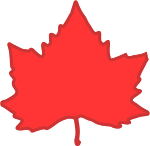 Red maple leaf clipart picture library download Red maple leaf vector clip art - ClipartBarn picture library download