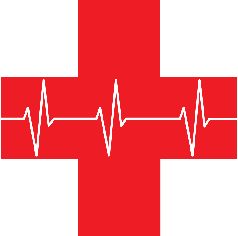 Red medical cross clipart graphic black and white download Clipart - Red Cross First Aid Icon Optimized graphic black and white download