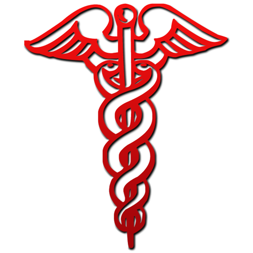 Red medical symbol clipart black and white graphic transparent library Free Caduceus Clipart, Download Free Clip Art, Free Clip Art ... graphic transparent library