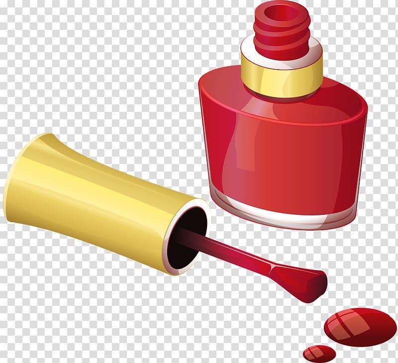 Red nail polish clipart clip stock Nail polish Brush , Red nail polish transparent background ... clip stock