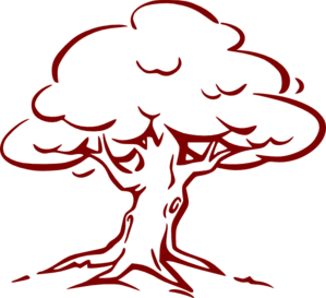 Red oak tree clipart png free stock Burgundy Oak Tree Clip Art at Clker.com - vector clip art ... png free stock