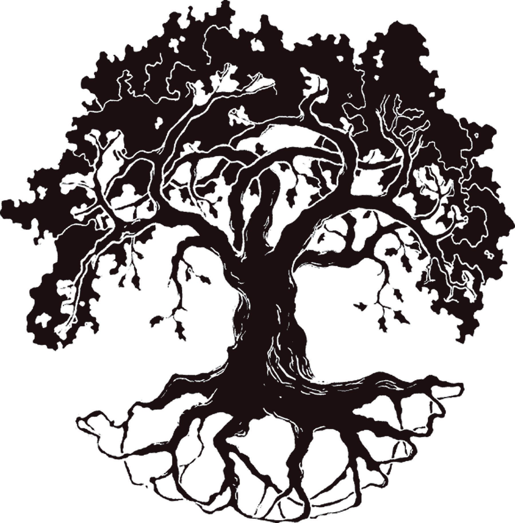 Red oak tree clipart banner library library Best Oak Tree Silhouette #17919 - Clipartion.com | Memorial ... banner library library