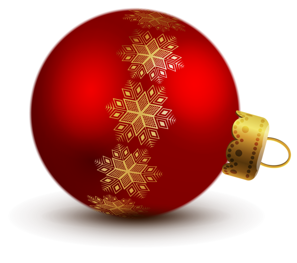 Christmas Ornament Clip Art | Transparent Red Christmas Ball ... svg freeuse library