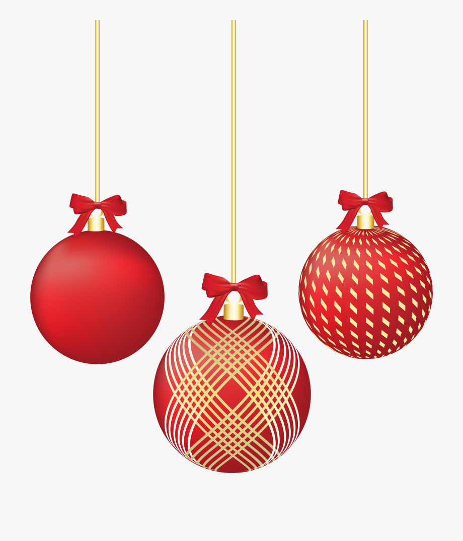 Red ornament clipart png free Christmas Ornaments Png - Red Ornaments Clip Art #463631 ... png free