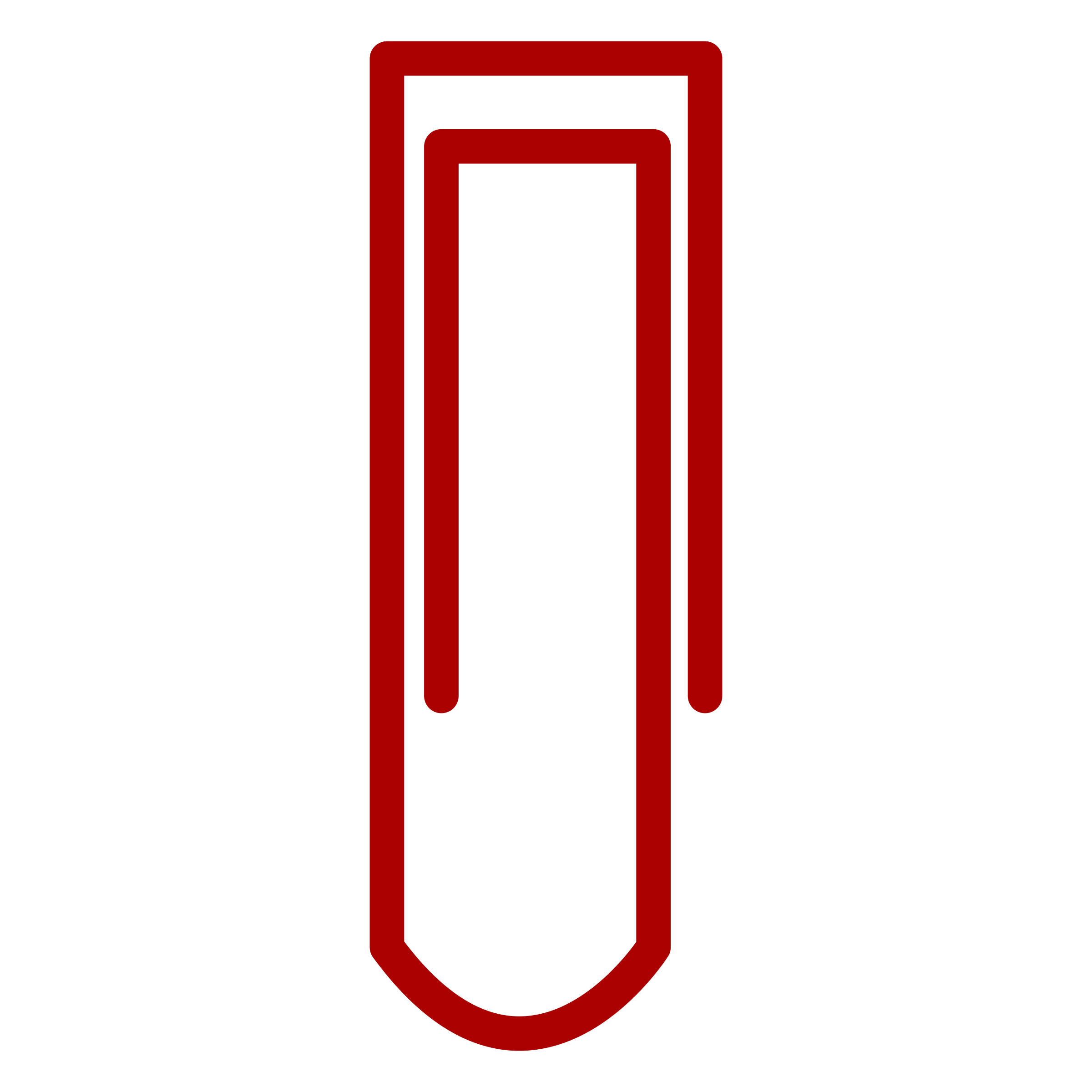 Red paper clip clipart image black and white stock Red Paperclip vector Clipart image - Free stock photo ... image black and white stock