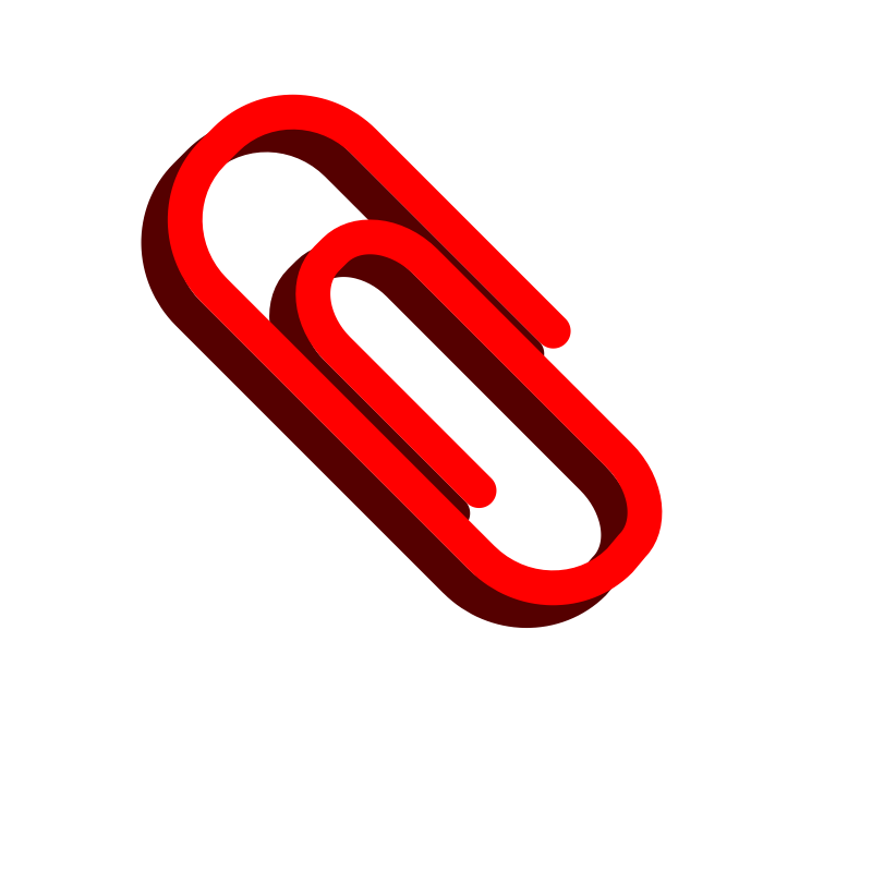 Red paper clip clipart graphic transparent Free Paperclip Picture, Download Free Clip Art, Free Clip ... graphic transparent