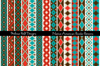 Native American Border Patterns Clipart clip library