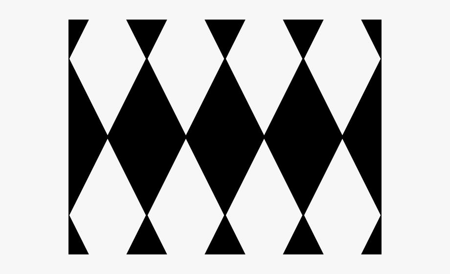 Grid Clipart Diamond Pattern - Red And Black Diamond #452459 ... svg transparent stock